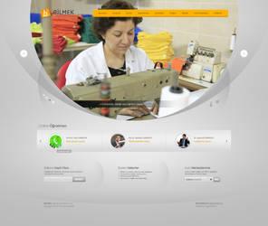 Bilmek Web Design (2) by alisarikaya