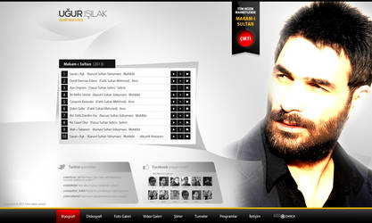 UgurIsilak Web Interface Design by alisarikaya