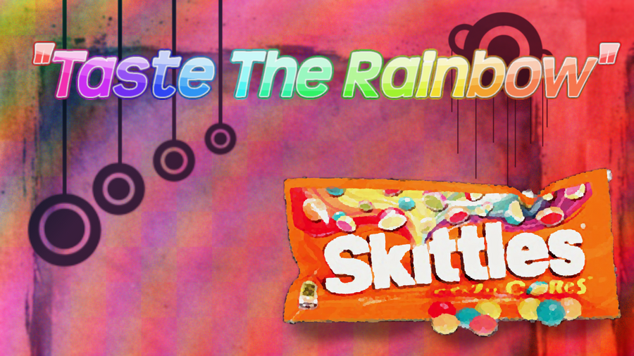 Skittles Taste The Rainbow Background