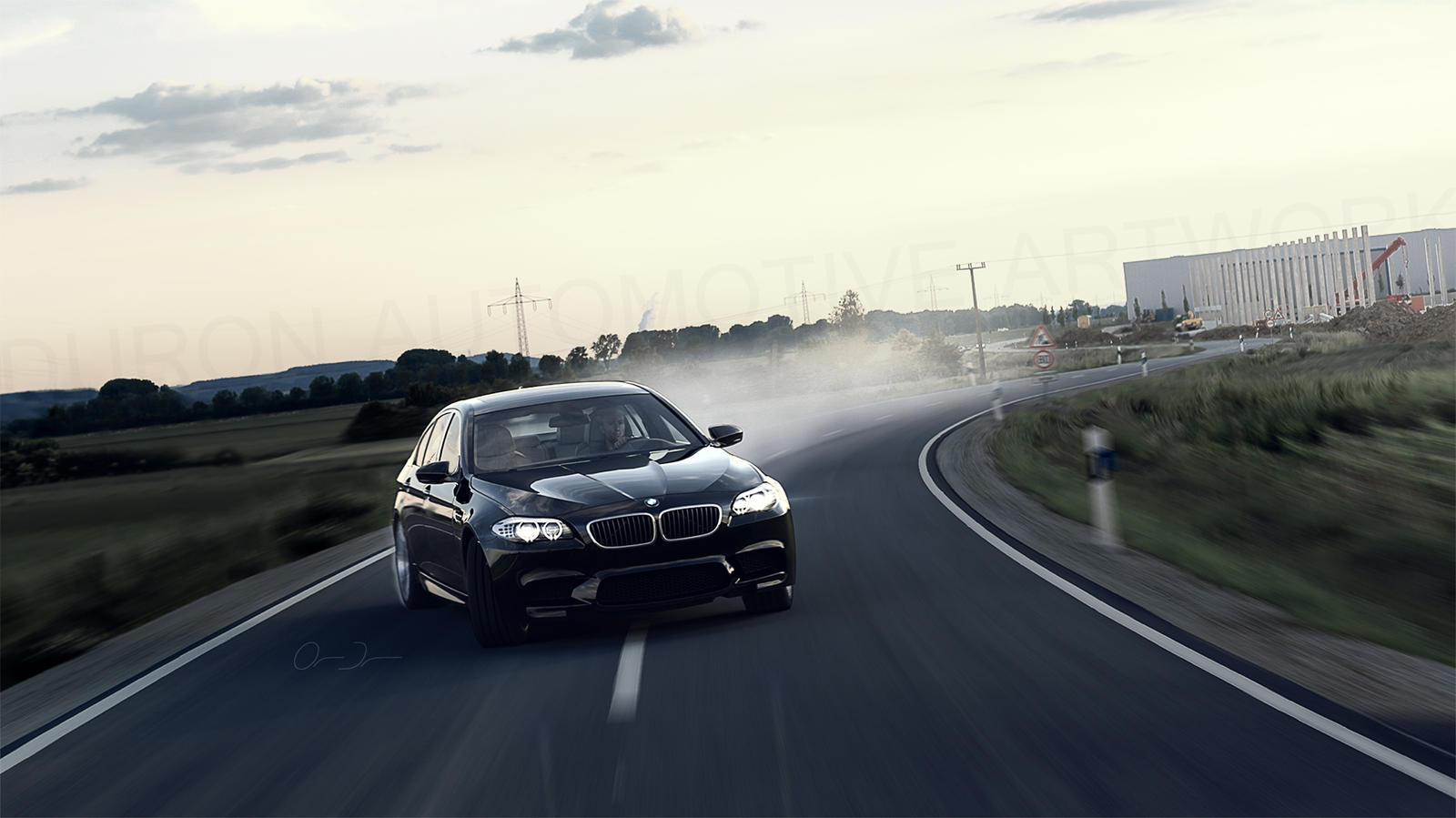 BMW M5 2012 | Let's drift by DuronDesign