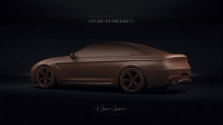 BMW M6 WiP   Clay by DuronDesign