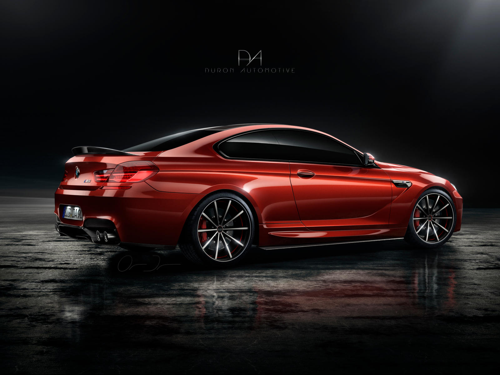 DA M6 F13 | New Rims by DuronDesign
