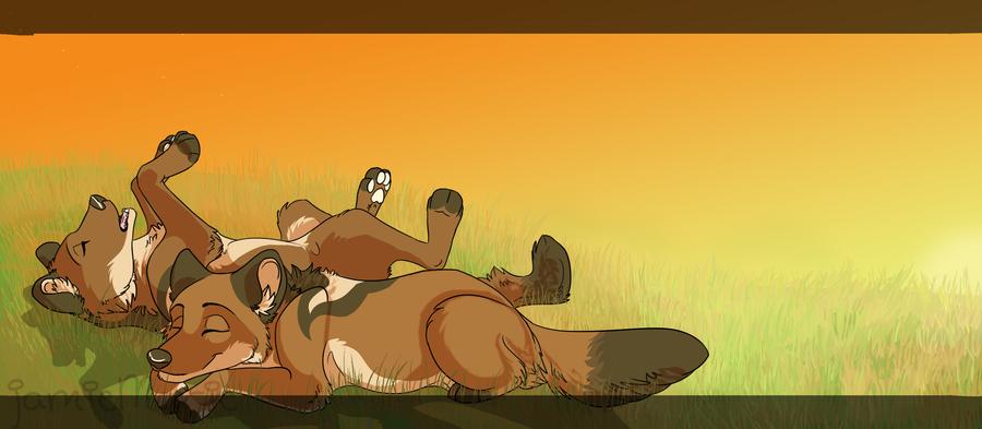 Lazy Days by LittleRavine