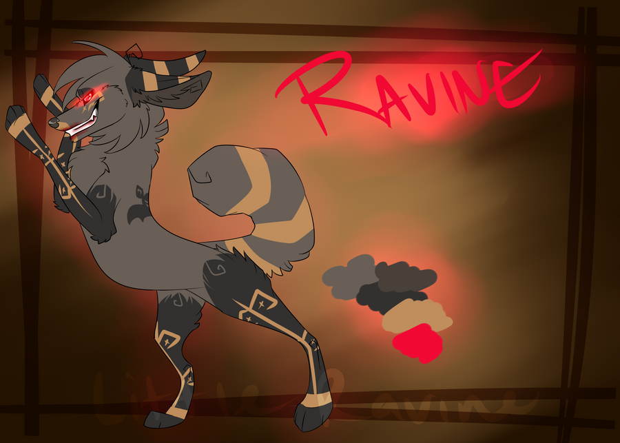 Ravine Hall-o-scream ref 2012 by LittleRavine