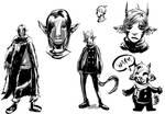 Next Comic Sketches