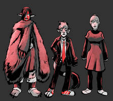Comic Outfit Color Ideas by angieness