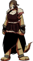 Legendary Phinora Warrior Kadlin by angieness