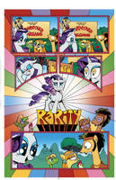 My Little Pony Rarity Micro Page 14 by angieness