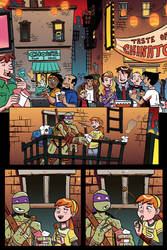 TMNT Animated #7 Page by angieness