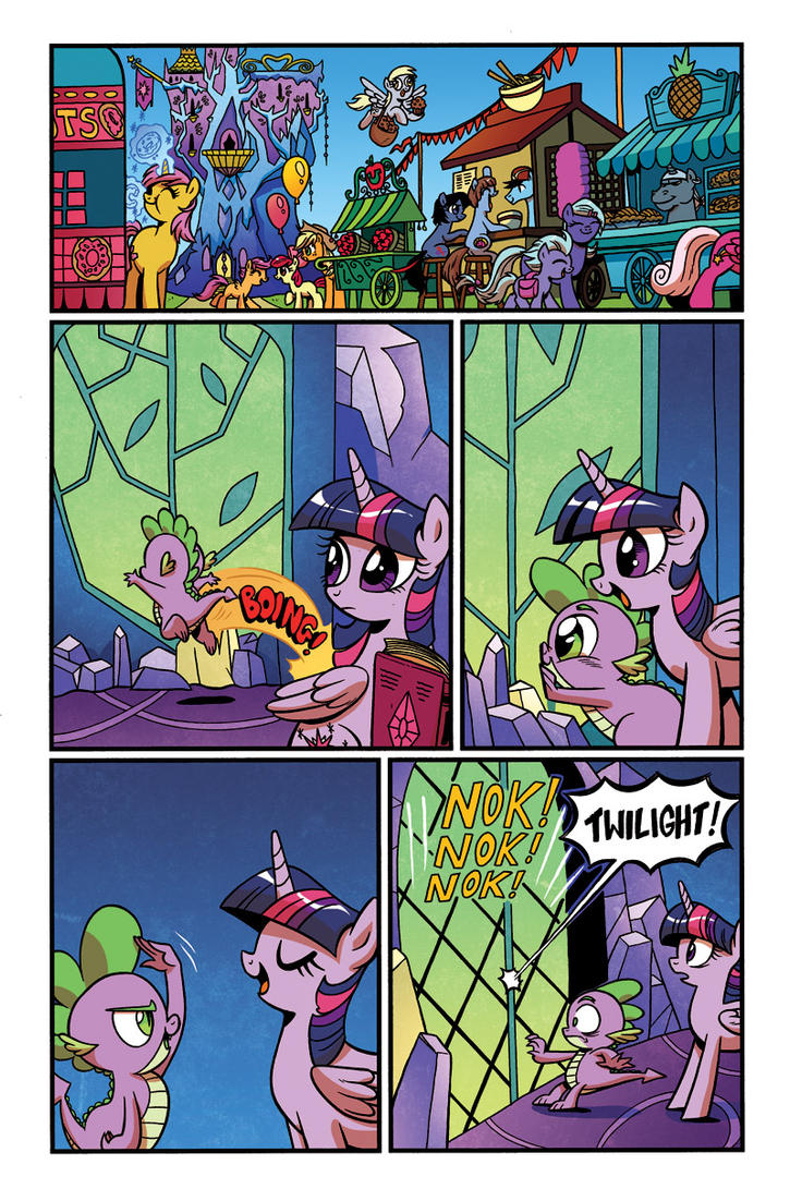 My Little Pony Friends Forever Issue 12 by angieness