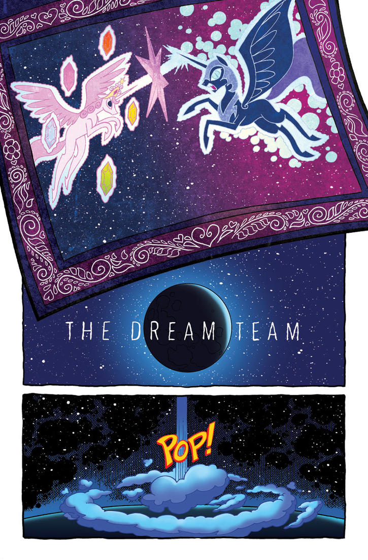 Fiendship is Magic Nightmare Moon by angieness