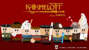 KAAMELOTT VERSION GOBELETS by Robertoons