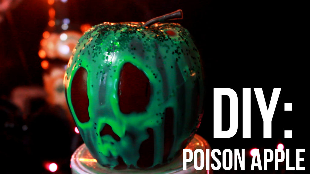 DIY Poison Apple from Snow White by OrthopedicUnderwear