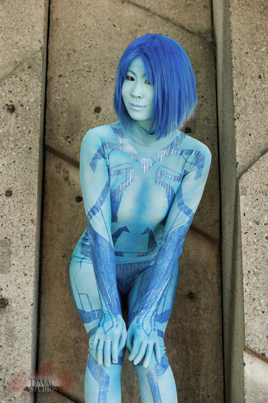 Halo - Cortana 6 by Hyokenseisou-Cosplay
