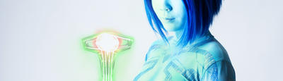 Halo - Cortana INDEX teaser by Hyokenseisou-Cosplay