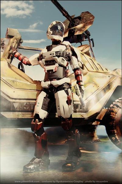 Halo - Spartan HYO-005 - 8 by Hyokenseisou-Cosplay