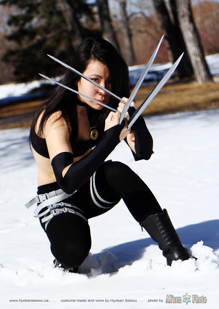 X 23 Cosplay Wallpaper Xmen - X-23 9 by Hyoke...