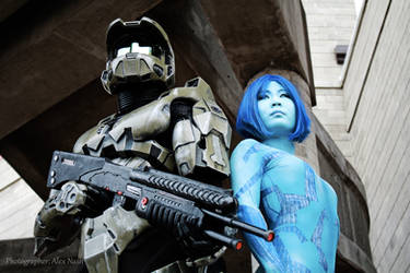 Halo - Green and Blue by Hyokenseisou-Cosplay