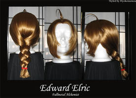 Edward Elric -wig- by Hyokenseisou-Cosplay