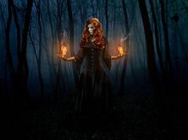 Night Fire by PSRADICH