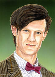 The Eleventh Doctor by Arrowfire