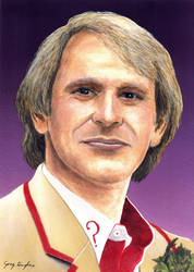 The Fifth Doctor by Arrowfire