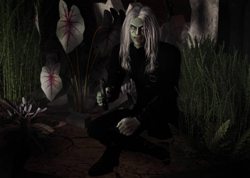 Ruins scene - Benemoth by Luna Fantasma