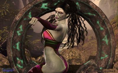 The Ancient alien Gate by Luna Fantasma by Luna-Fantasma