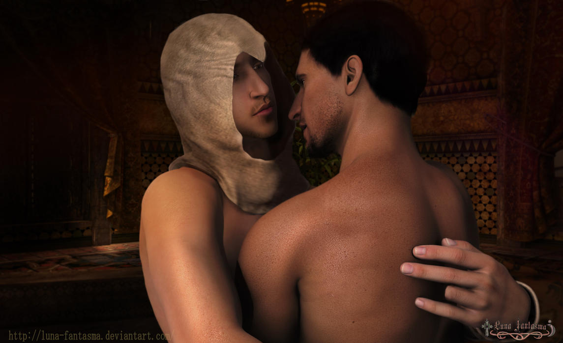 Take off your hood- Malik Altair slash-yaoi by Luna-Fantasma
