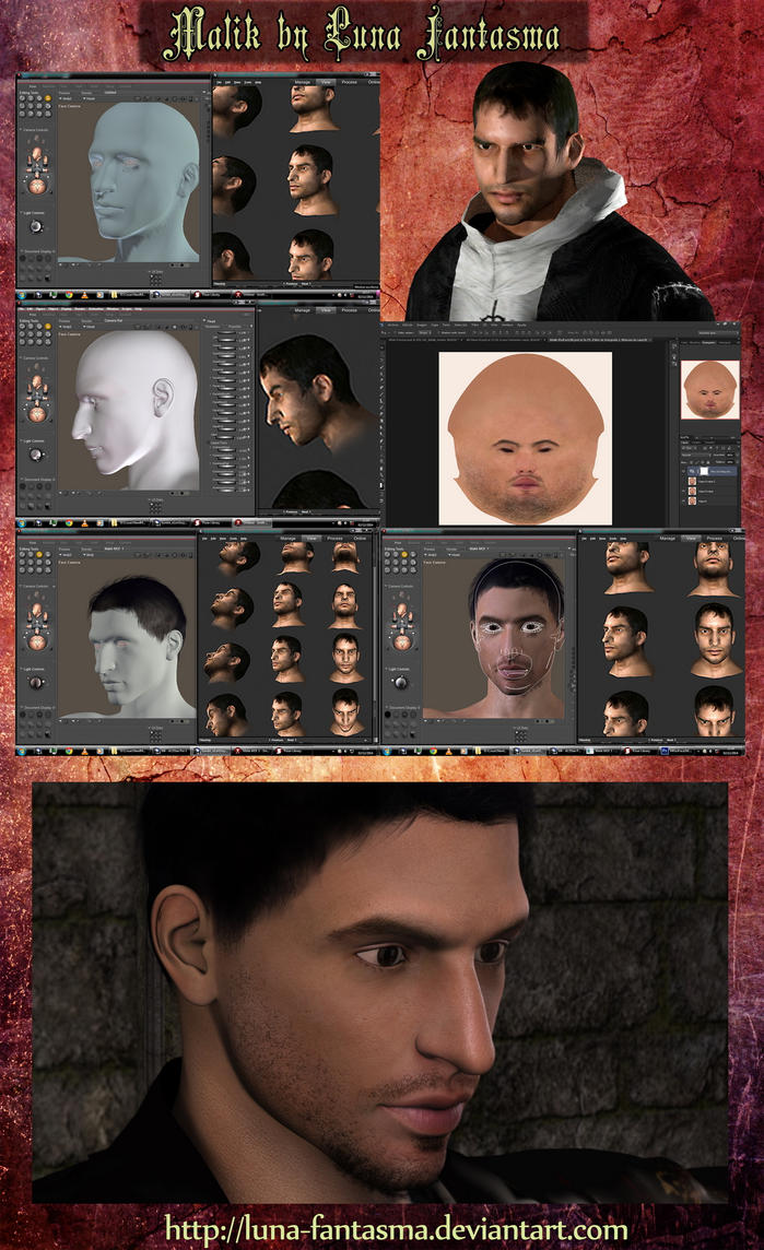 Malik Process Assassin's Creed by Luna Fantasma by Luna-Fantasma