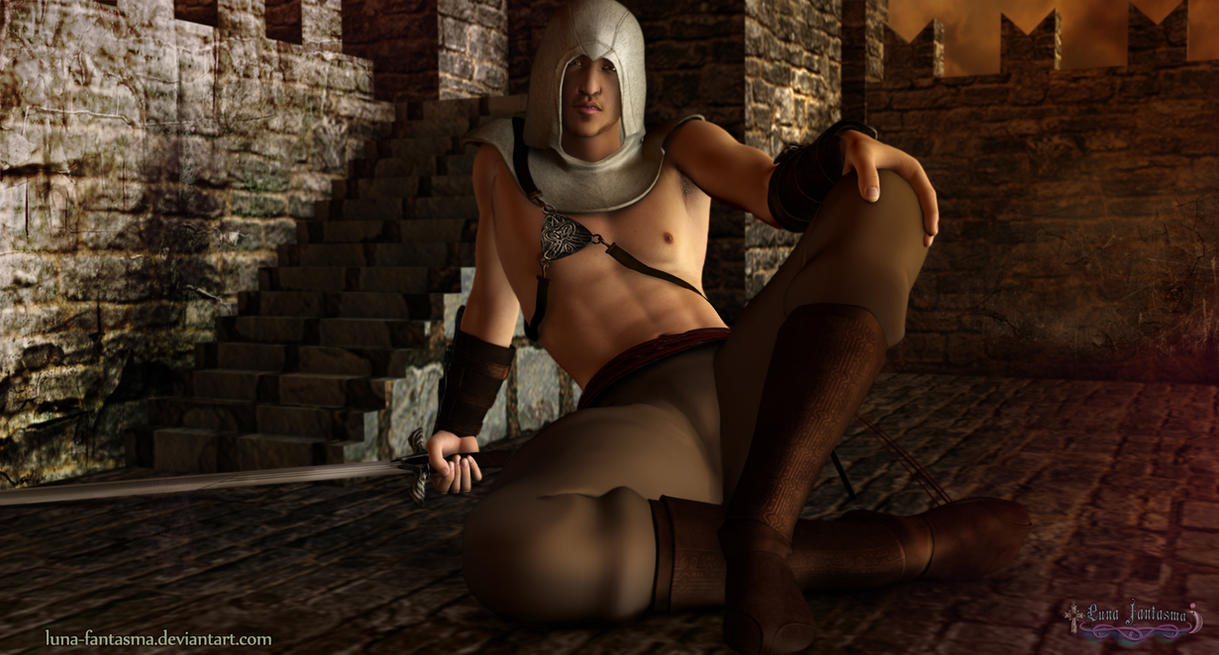 Altair Ibn La'Ahad Assassin Creed by Luna Fantasma by Luna-Fantasma