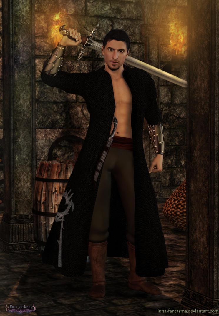 Malik Al Sayf Assassin Creed by Luna Fantasma by Luna-Fantasma