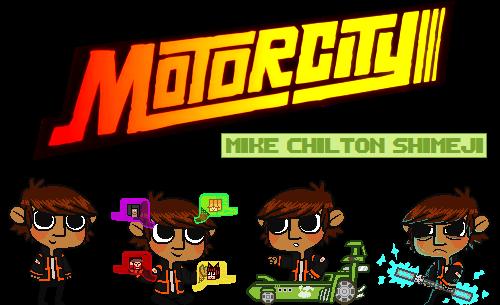 MOTORCITY: Mike Chilton Shimeji by aRealShark