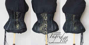 Lace Underbust by MissMaefly