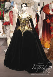 Queens Gallery costume, mounted