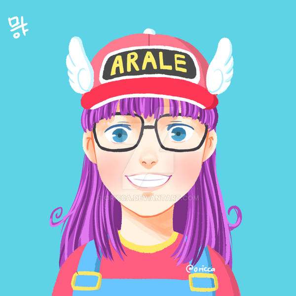 Dr. Slump Arale By Oricca On DeviantArt