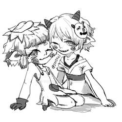 Couple Commission - Soggy Cats