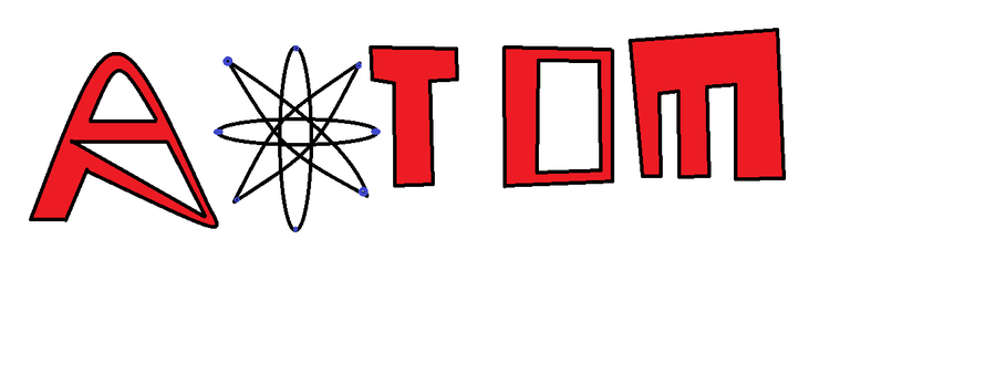 Atom Logo by MatriannaRawwkz on DeviantArt