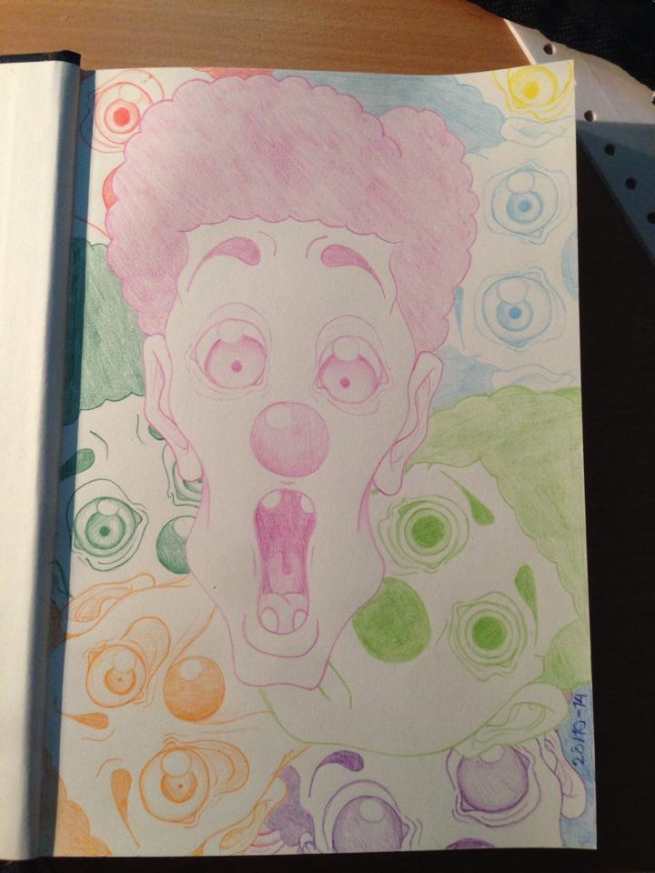 Color clowns invading by Ythran