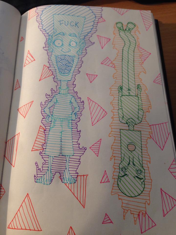 Sketch by Ythran