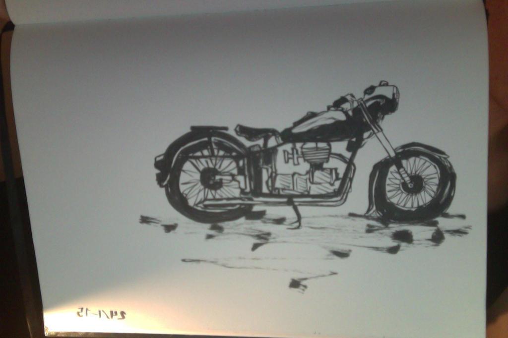 INK bike by Ythran