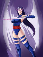 Psylocke by Metalbolic