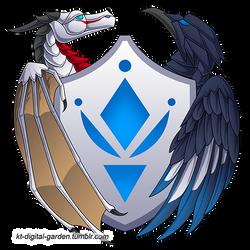 Logo: White Dragon