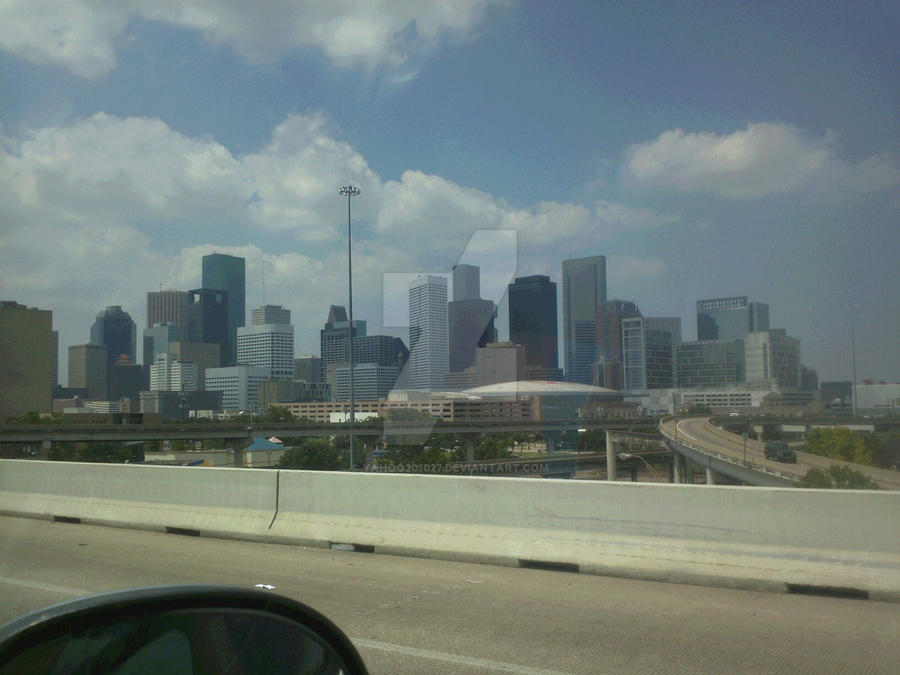 Downtown Houston by yahoo201027