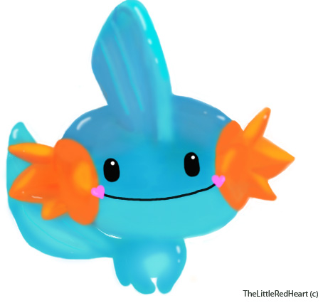 Mudkip by TheLittleRedHeart