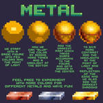 how to do metals
