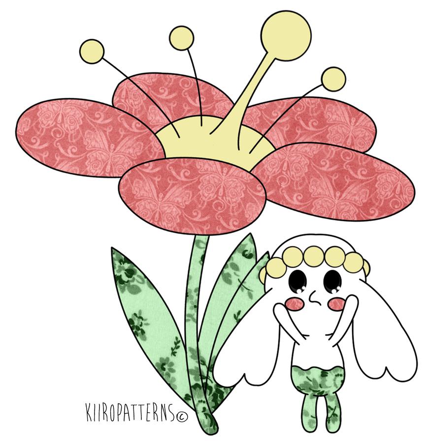 Pokemon - Flabebe can't reach by KiiroPatterns on DeviantArt