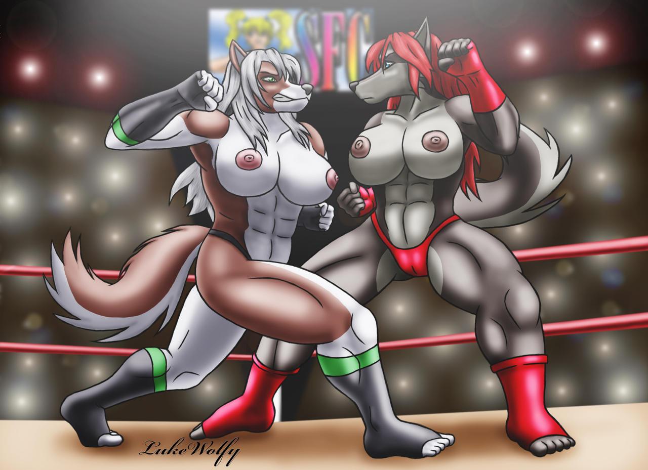 Sexy Fight by LukeWolfy