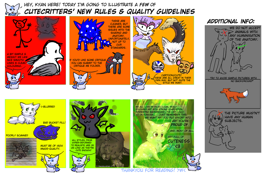 CuteCritters QUALITY RULES by Kerixai