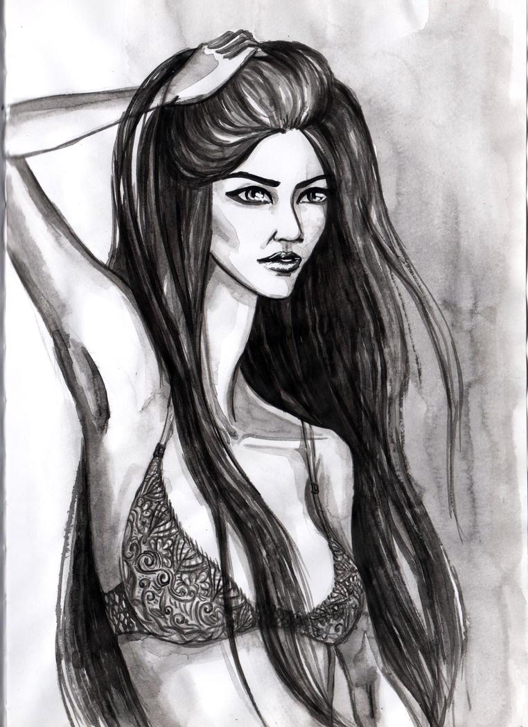 girl by DaryaLednikova
